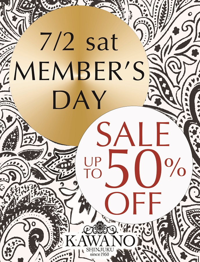 KWN16SS SALE 2.3F MEMBERS DAY